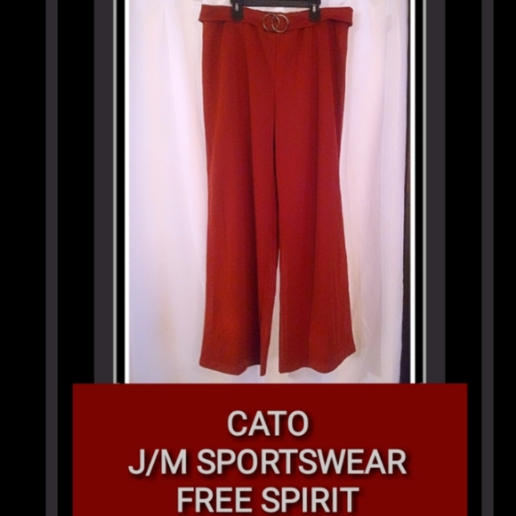 Cato Pants - *5 for $30* CATO FREE SPIRIT WIDE LEG PANTS